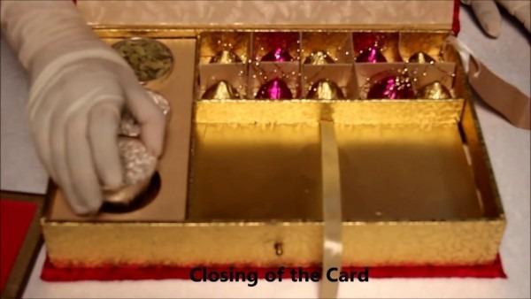 Shilpa Shetty Marriage Card