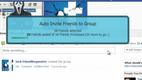 How To  Invite All Friends To A Group On Facebook ! 2012
