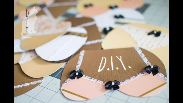 The Best Booty Diy Invitations, Bras And Panties, Bachelorette