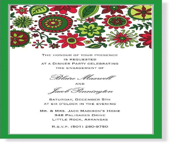 New Year Party Invitation Letter Sample – Festival Collections