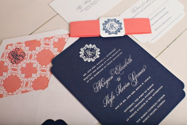 Monogrammed Wedding Invitations ⋆ Nico And Lala