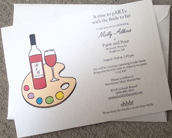 Painting Party Invitations Painting Party Invitations Party
