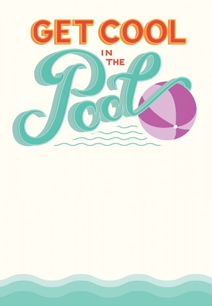 Pool Party Invitation Template Pool Party Invitation Template With