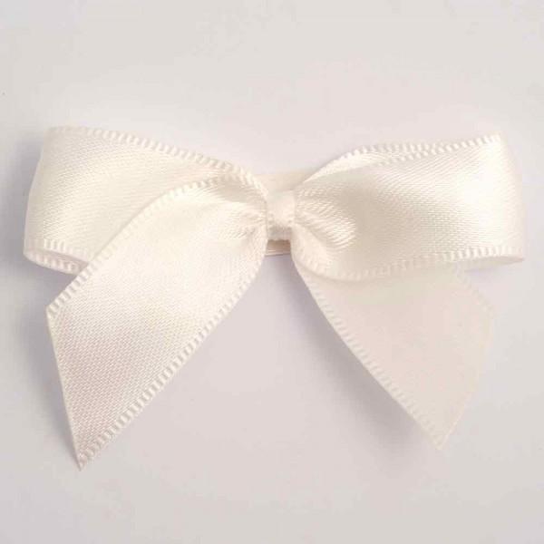 Pre Tied Bows For Wedding Invitations Satin Ribbon Bows