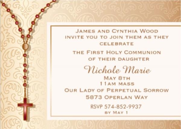 Death Anniversary Invitation