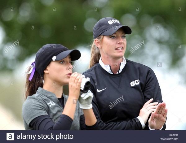 September 25, 2017  Lauren Giesecke Advises Her Ladies In The Ncaa