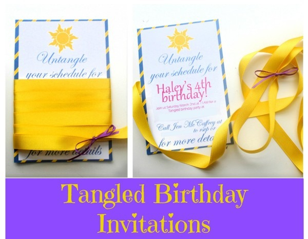 Eat+sleep+make  Party  Tangled Birthday Invites {tangled Birthday