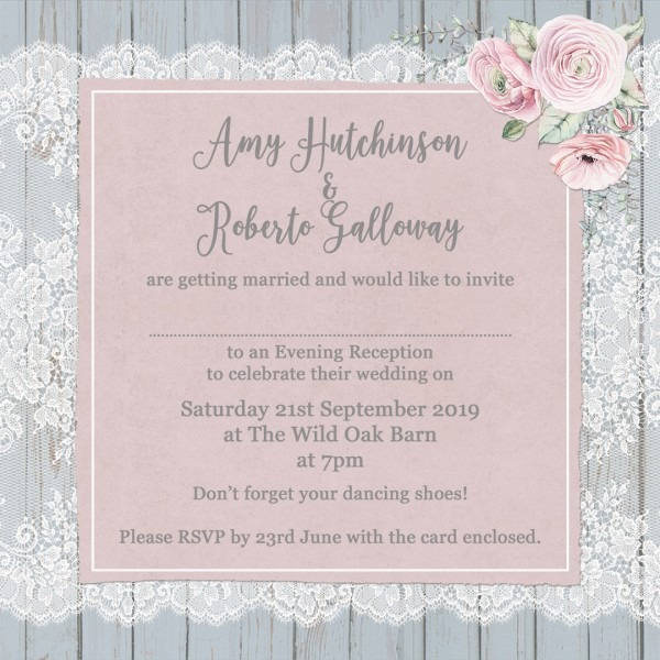 Story Guide To Wedding Invitation Wording: Wording A Wedding Invitation