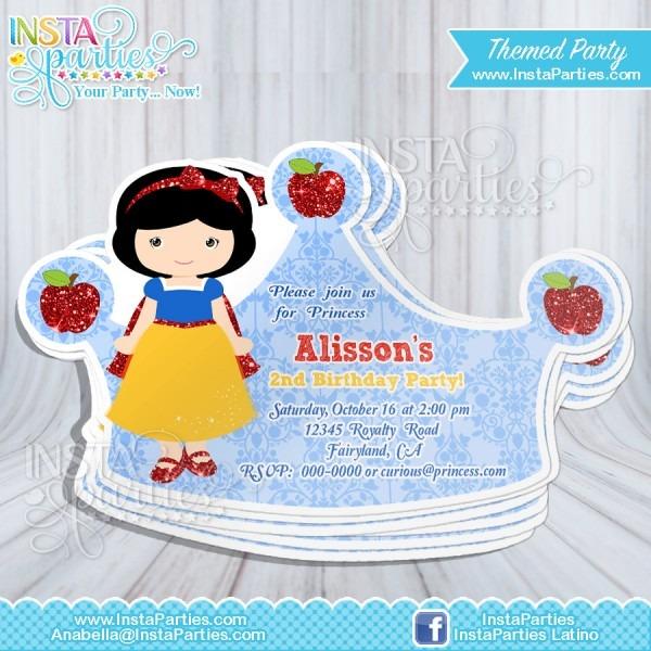 Tiana Party Invitations Princess African American   Princesses Cut