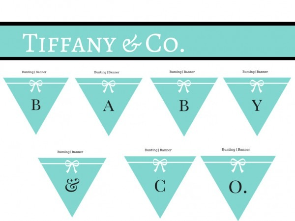 Baby Shower  Tiffany And Co Baby Shower  Marvelous Design Tiffany