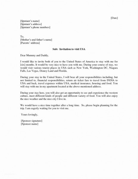 Travel Request Letter For Us Embassy In America Inspirationa