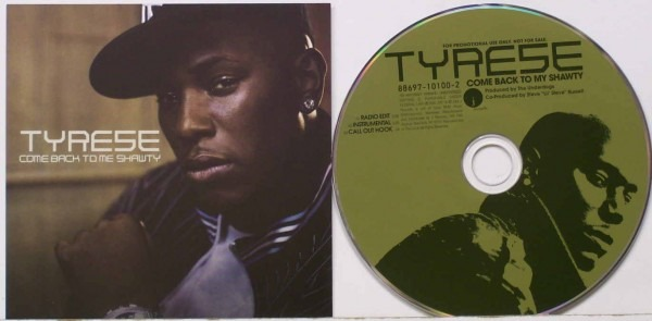 Tyrese Come Back To Me Shawty Records, Lps, Vinyl And Cds