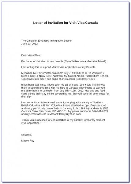 Invitation Letter For Uk Visa Family Importance Of Invitation