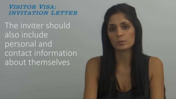 Glamorous Invitation Letter For B1 Visa