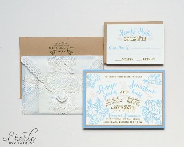 Wedding Invitation Atlanta Eberle Invitations Ga Weddingwire