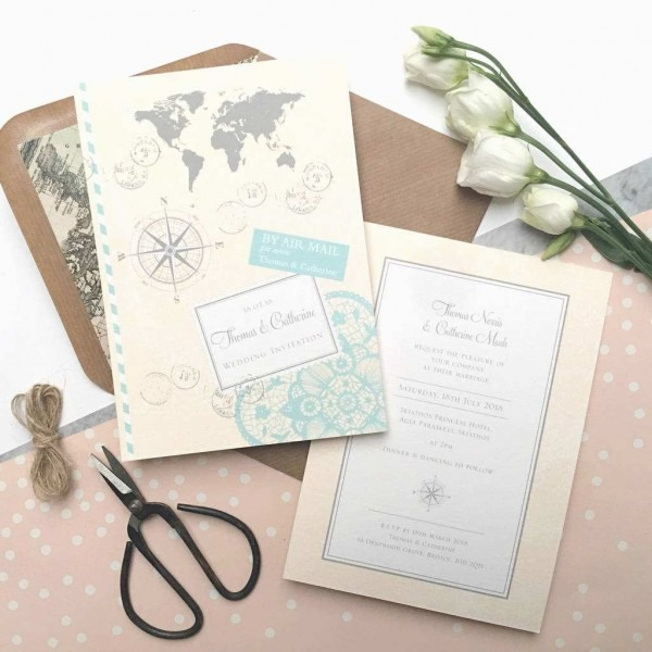 Wedding Invitation Candle Keepsake Lovely Wedding Invitation