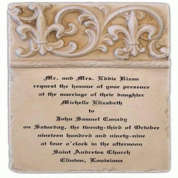 Wedding Invitation Candle Keepsake Wedding Invitation Keepsake