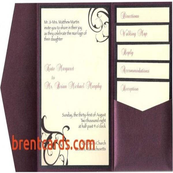 Wedding Invitation Inserts Insert Cards For Invitations