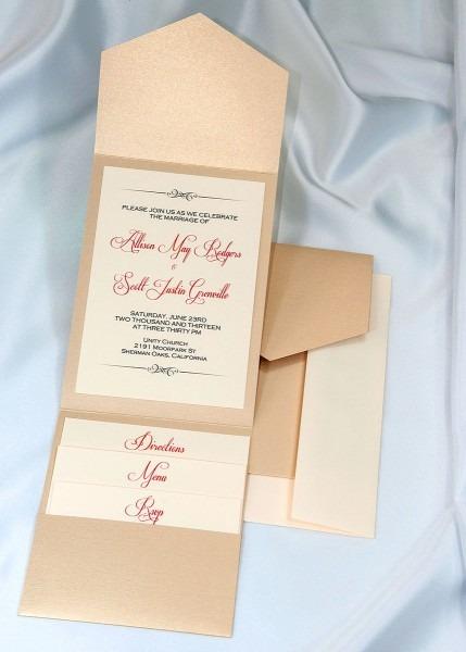Wedding Invitation Kits Yellow And Gray