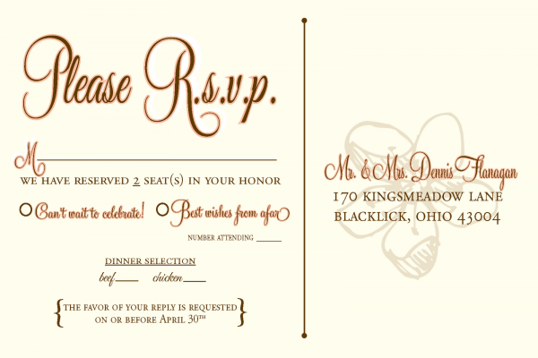 Wedding Invitation Wording Rsvp Online Image Collections Delta Tub