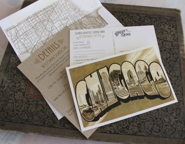 Wedding Invitations Chicago Wedding Invitations Chicago With An