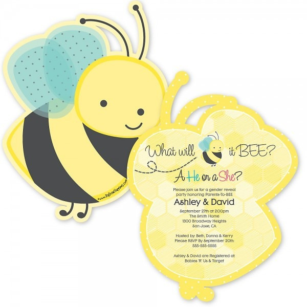 Baby Shower  Baby Shower Bee Theme  What Will It Bee Theme Baby