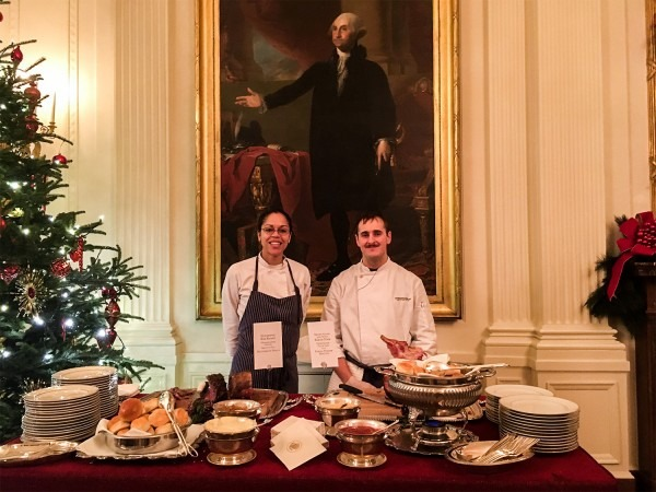 Going To A White House Holiday Party