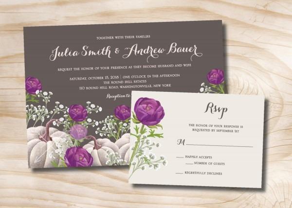 White Wedding Cards 2018