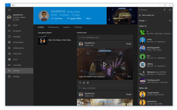 Game Streaming Now Enabled For All Xbox One Owners With A Windows
