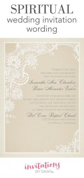 Alternative Wedding Invitation Wording