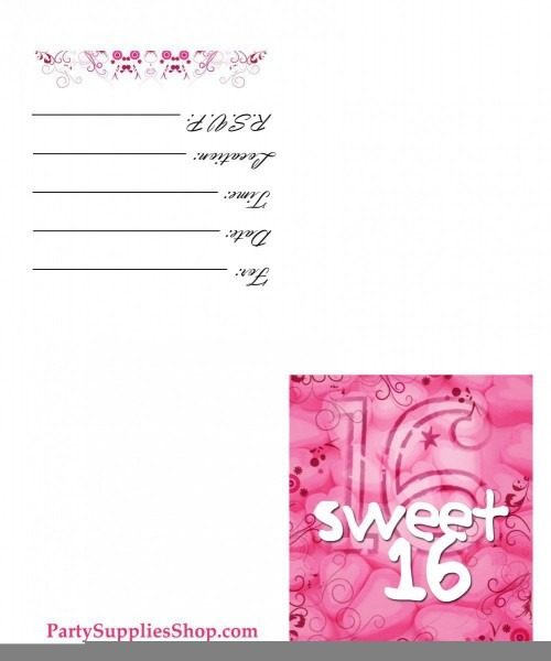008 Template Ideas Sweet Invite Dreaded 16 Templates Surprise