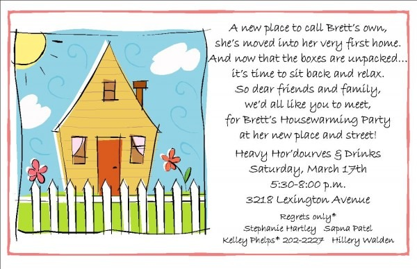 021 Housewarming Party Invitation Samples Nice Invitations Wording