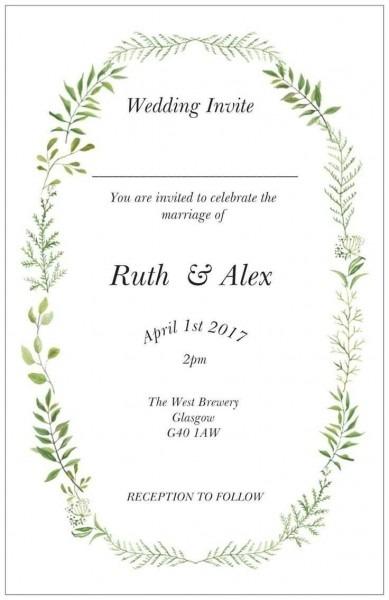 30+ Brilliant Image Of Wedding Invitations Vistaprint