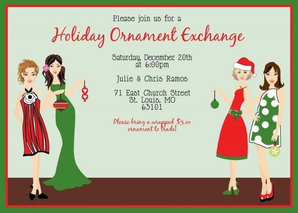 Ornament Party Ideas