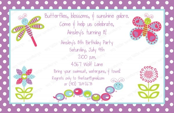 10 Years Birthday Invitation Cards – Happy Holidays!