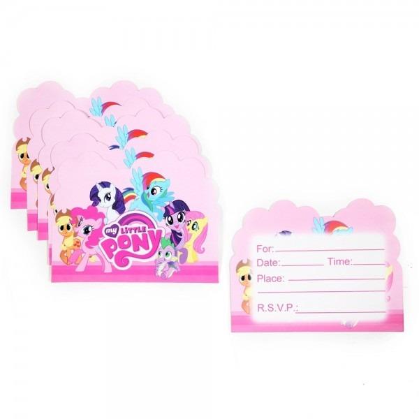 Online Shop 10pcs Wholesale My Little Pony Theme Invitation Card