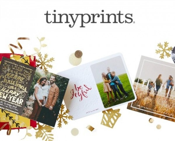 Deal  Save Up To 40  On Tinyprints Holiday Cards, Invitations