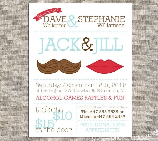 Jack & Jill Tickets, Stag And Doe