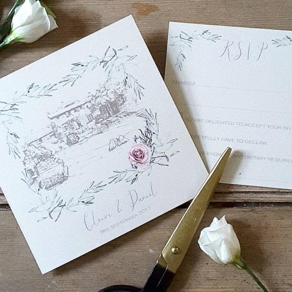 Provence Wedding Invitations And Stationery