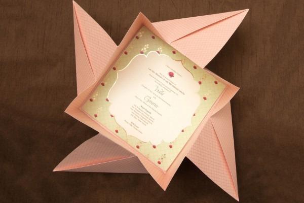 Creative Indian Wedding Invitation Cards
