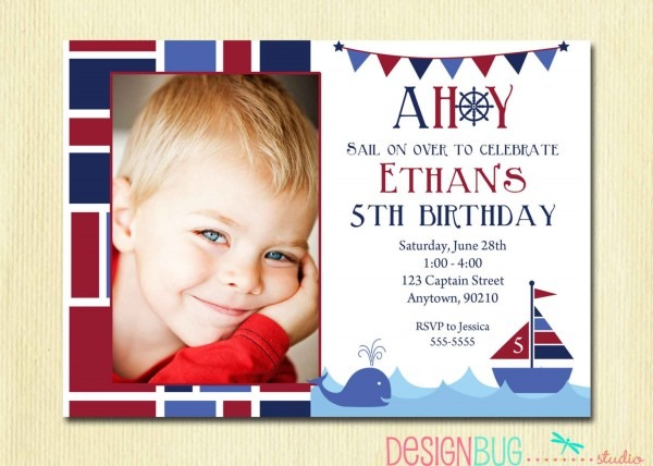 98+ Birthday Invitation Cards For 5 Year Old Boy