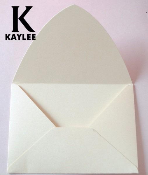 25pcs Ivory Envelopes For Invitaiton Cards,custom Invitation Card