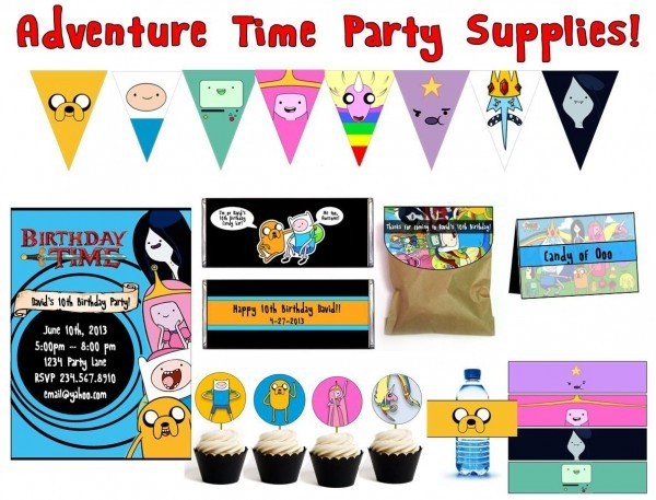 Adventure Time Birthday Party Ideas From How To Make Balloon
