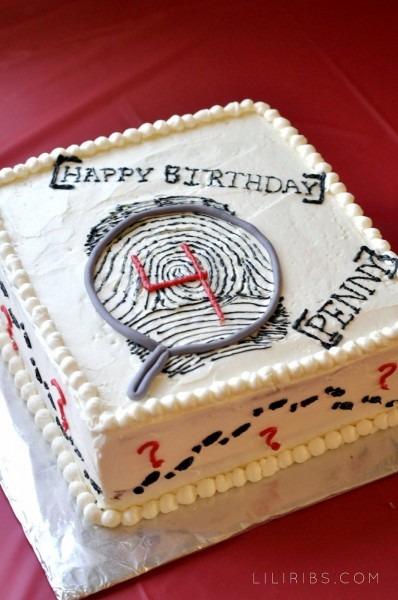 Penny's Super Secret Spy Party  Amazing Cake By Hilary!