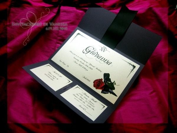 Phantom Of The Opera Invitation