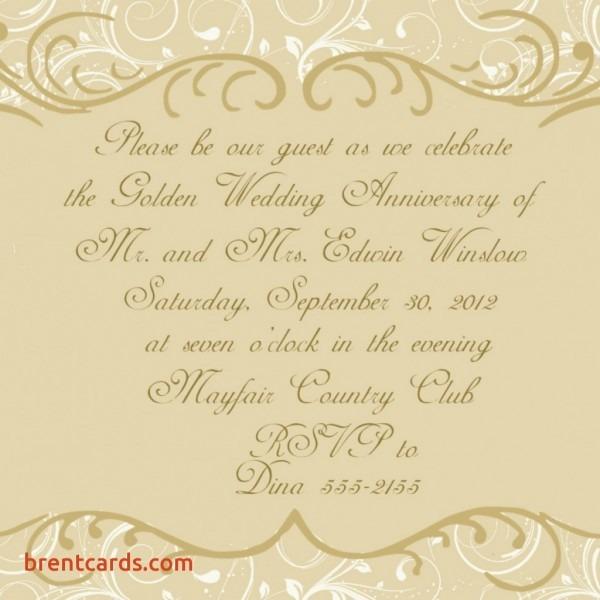 50th Birthday Invitation Wording — Birthday Invitation Examples