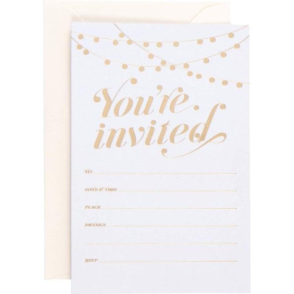 Amazon Com   Party Invitations! 25 Traditional Invitations With