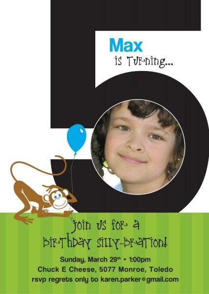 5 Birthday Invitation – Happy Holidays!