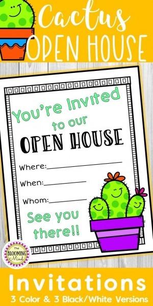 Are You Having An Open House, Meet The Teacher Night, Classroom