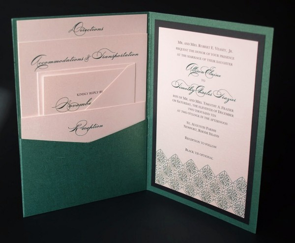 Irish Celtic Wedding Invitation